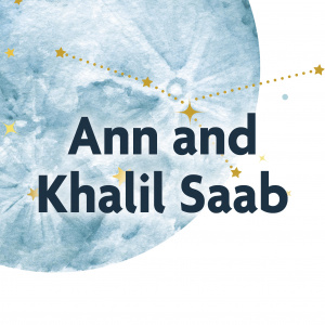 Ann and Khalil Saab